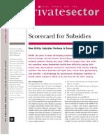 Lovei - Subsidy Scorecard
