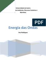 EARCM Energia Das Ondas (Ana Rodrigues
