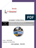 Comp Rend Re Les Termes Du Transport International(2) Derniere Modification