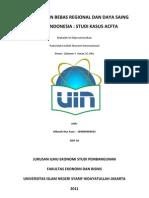 Perdagangan Bebas Regional Dan Daya Saing Ekspor Indonesia