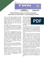 Third World Network – Bonn Update #16