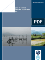 The potential impact of climate change on fisheries and aquaculture in the Asian region