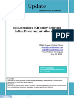 RBI Liberalises ECB Policy Relieving Indian Power and Aviation Sector