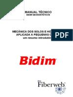 MECÂNICA DE SOLOS E HIDROLOGIA