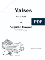 Auguste Durand - Valse No.1