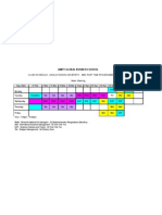 Class Schedule - Anglia Ruskin University - Mba Part Time Programme - Semester 2