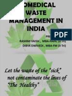 Bio Medical Waste Management Ppt Final1