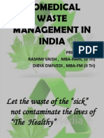 Bio Medical Waste Management Ppt Final1