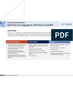 Upgrade SAP ECC 6 EHP5 Pharmaceutical