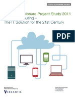 Cloud Computing the IT Solution for the 21st Century