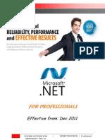 .Net 4.0 Course Content (Professional Module)