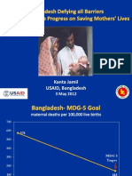 Jamil_Bangladesh Defying All Barriers Makes Impressive Progress on Saving Mothers' Lives