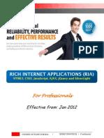 Ria Course Content Professional Module
