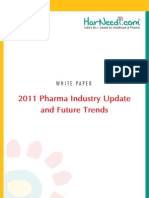 2011 Pharma Industry Update Future Trends