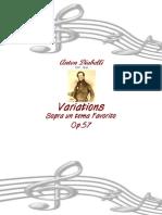 [Free com Diabelli Anton Variations 27150