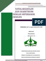 Referat an Ulkus Dm Dengan Hiperbarik Oksigen