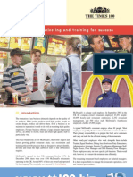 McDonalds - Recruitment & Selection & Training