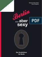 Berlin … aber sexy. Der Erotikführer für Berlin