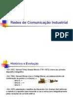 Aula 1 - Redes de Comunicação Industrial