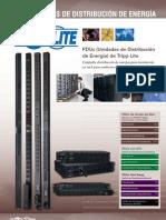 Redes Tripp Lite Catalogo PDUs - Unidades de Distribución de Energía www.Logantech.com.mx Mérida, Yuc.