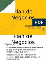 Presentación - Plan de Negocios