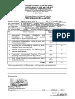 OJT Evaluation CWC