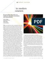 Uncertainty in Modern Spectrophotometers