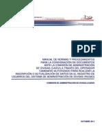 Manual Procedimientos Cadivi