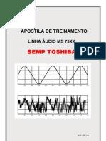 Apostila de treinamento linha áudio MS-75xx