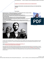New Black Panther Malik Shabazz Details Meeting With Ahmadinejad Farrakhan