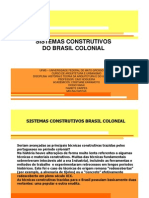 Sistemas Construtivos Do Brasil Colonial