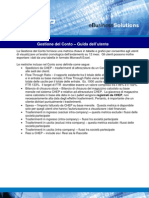 Gestione del Conto - Guida dell'utente (it)