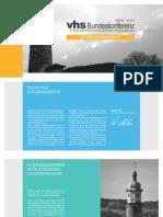 Sponsorenangebot VHS Bundeskonferenz Arnstadt 2012