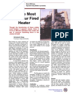 Get the Most From Your Fired Heater