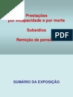 ACIDENTES DE TRABALHO E PENSÕES