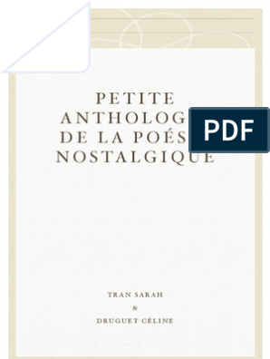 Petite Anthologie De La Poésie Nostalgique Victor Hugo