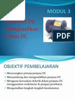 Nota Aplikasi Modul 3-Penjana DC