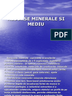 Resurse Minerale Si Mediu