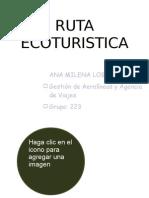 RUTA ECOTURISTICA POR CUNDINAMARCA