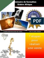 7etapespourrealiserunevente-eclaireafrique280610-100701151323-phpapp02