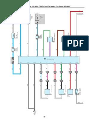 2009-2010 Toyota Corolla Electrical Wiring Diagrams | Anti Lock ... toyota 4 pin alternator wiring diagram Scribd