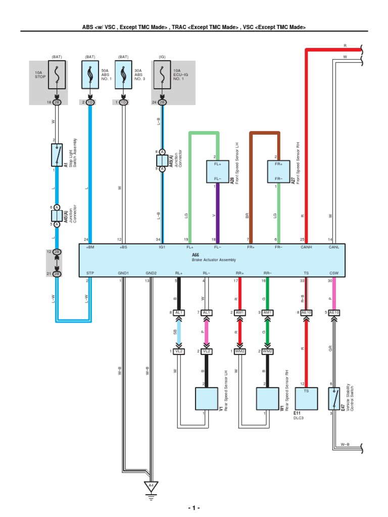 2008 toyota corolla headlight wiring diagram wiring diagram & fuse 2008  toyota corolla wiring diagram 2008