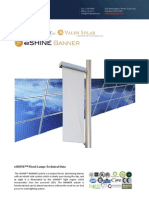 Ember Led - Eshine Solar Led Banner Light