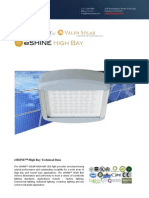 Ember Led - Eshine Solar Led High Bay Light