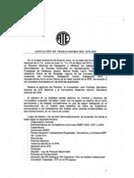 Acta Plenario Nacional de Afiliados y Delegados Mayo 2012