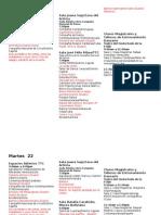 Cronograma Del Festival Solos y Duetos-medios 22-5-12