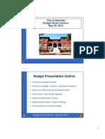 Alameda Budget Session