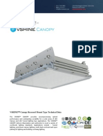 Ember Led - Vshine Led Canopy Light - Recessed
