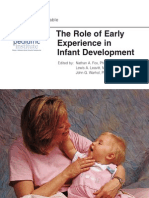 The Role of Early Experience in Infant Development