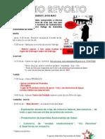 programa Maio Revolto 26 de maio